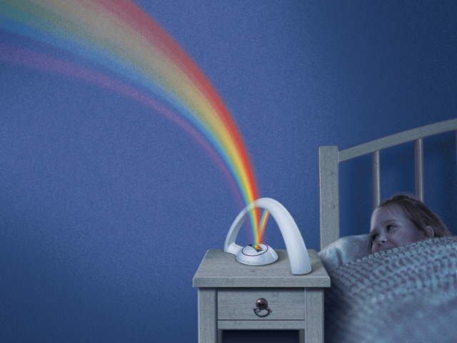 Uncle Milton Rainbow In My Room