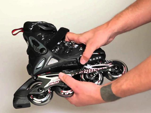 Rollerblade Spitfire Alu Adjustable Inline Skates