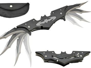 Batarang Style Pocket Knife