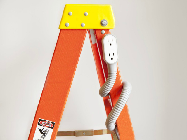 Quirky Extension Cord Prop Power