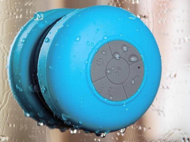 Splash Shower Tunes Bluetooth Shower Speaker