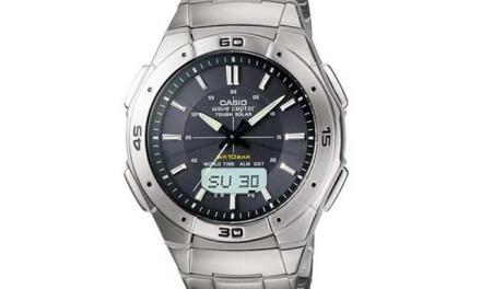 Casio Waveceptor Solar & Atomic Watch