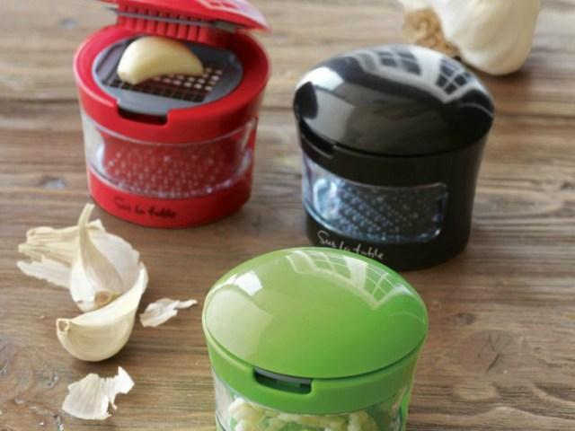 Sur La Table Slice and Dice Garlic Press