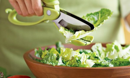 Toss and Chop Salad Tongs