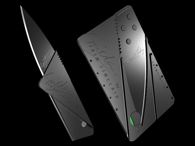 Iain Sinclair Cardsharp2 Folding Knife