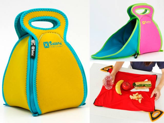 FlatBox – The Lunch Box that Converts to a Placemat