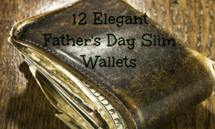 12 Elegant Father's Day Slim Wallets