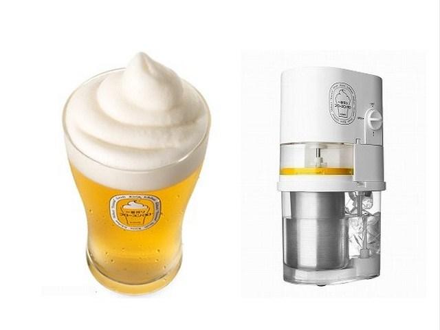 Frozen Beer Slushie Maker Makes Slushies for Real Men