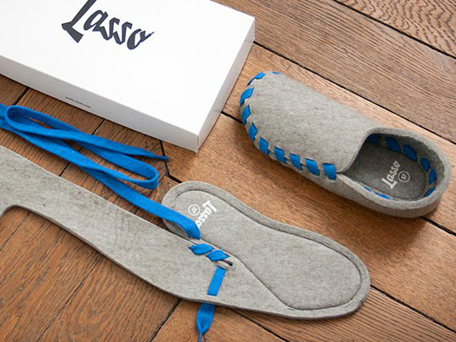 Lasso Flat-Packed Slippers – Some Assembly Required