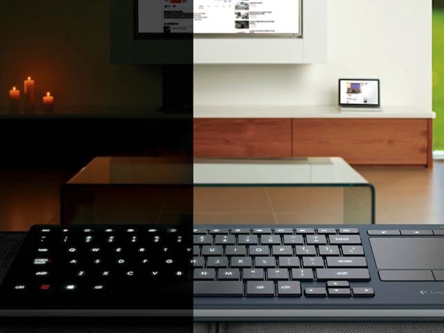 Logitech K830 Illuminated Keyboard – Built for the Living Room