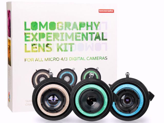Lomography Experimental Lens Kit Brings Back Creativity to Digital Photography