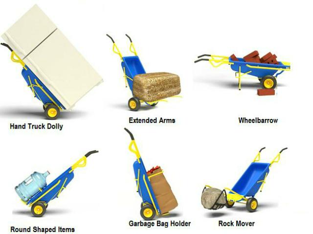 Muletto Multi-Function Garden Cart