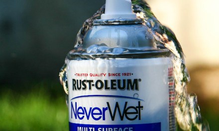 NeverWet Makes Surfaces Water Repellent