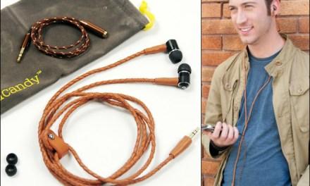 handcandy Leather Headphones, Fashion meets Technology