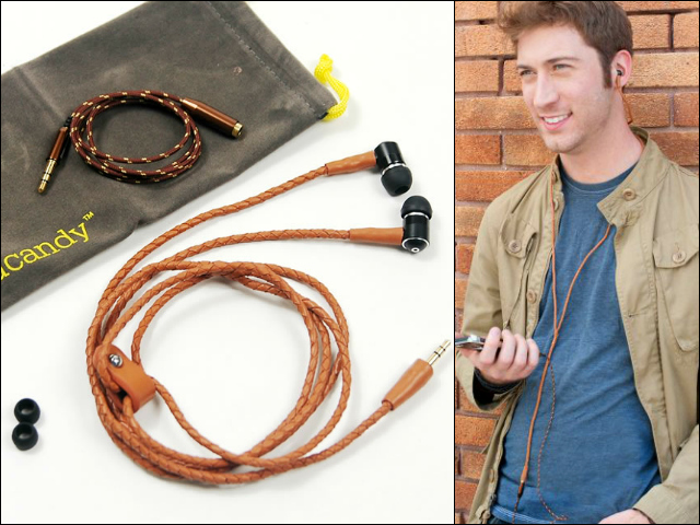 handcandy Leather Headphones, Fashion meets Technology