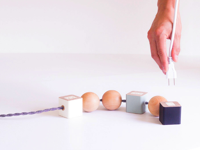 Oon Power Outlet Turns a Power Strip into a Work of Art