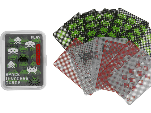 Space Invaders Playing Cards are Out of this World