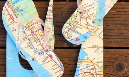 Walk On Map Flip Flops – The World is at Your Feet