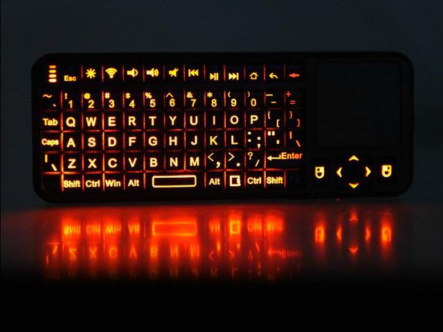 Backlit iPazzPort Mini Bluetooth Keyboard
