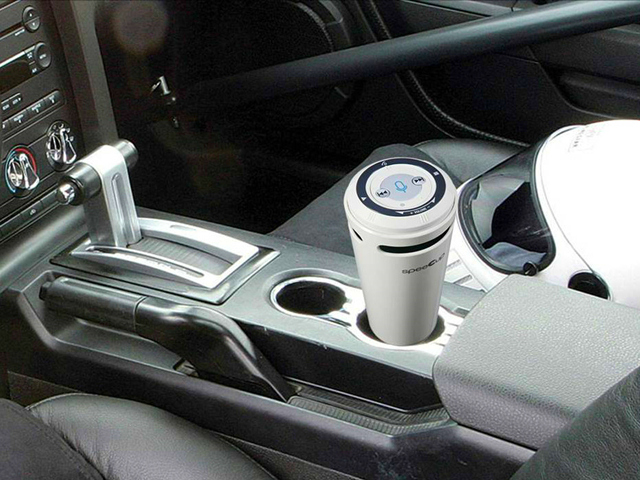Drive Safely with speeCup Voice Activated Speakerphone