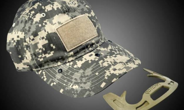 Gotcha Cap With Hidden Self Defense Tool