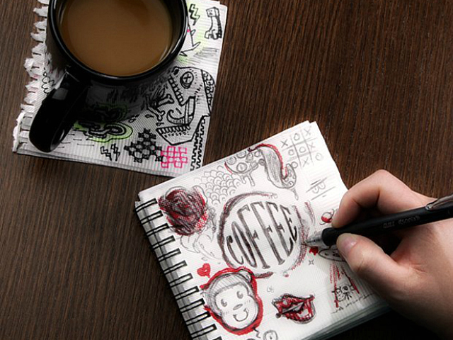 Great Ideas Napkin Sketchpad
