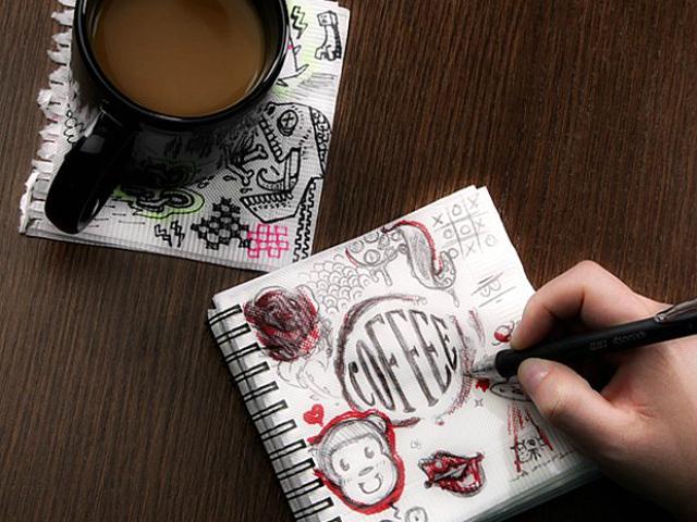 Great Ideas Napkin Sketchpad