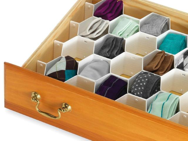 Whitmor Honeycomb Drawer Organizer
