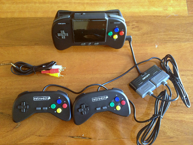 Bring The Classics Everywhere With The Retro Duo Portable NES & SNES Game System