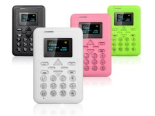 HomeGo Credit Card Size Cell Phone
