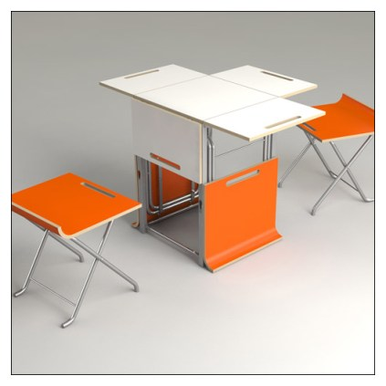 Paket Folding and Collapsible Stools