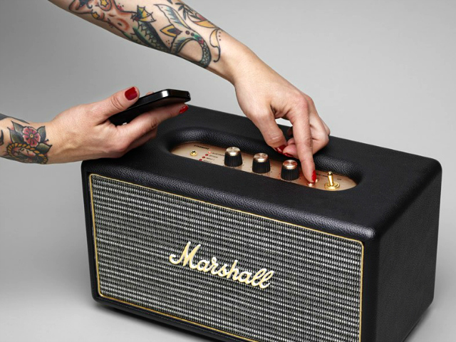Rev Up Your Music with the Marshall Stanmore Bluetooth Speaker System
