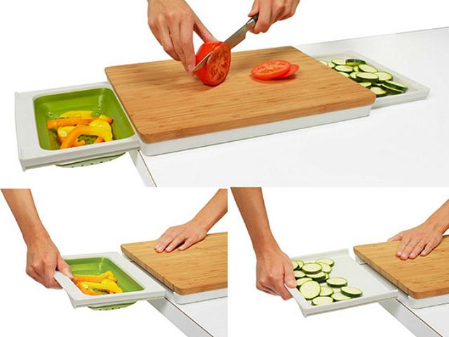 Chefn PrepStation EcoFriendly And Handy Cutting Board GetdatGadget - Restaurant prep table cutting boards