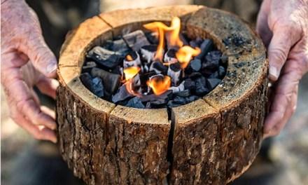 Burnie Portable Campfire – No Waste & No Cleanup