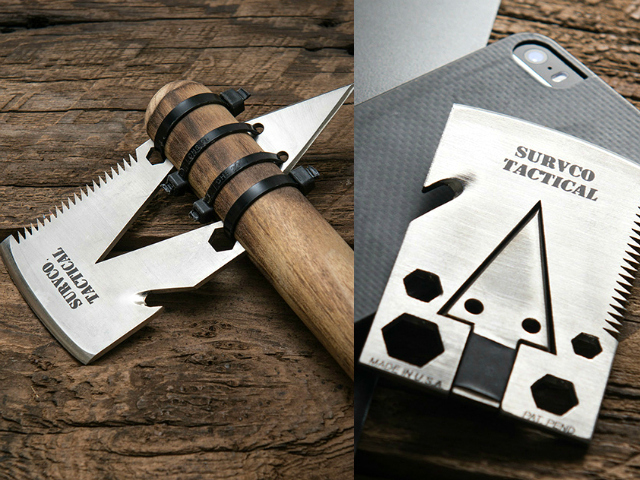 Credit Card Ax – 21 Tools Plus an Ax that Fits in your Pocket