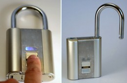 iFingerLock Fingerprint Padlock – No More Missing Keys
