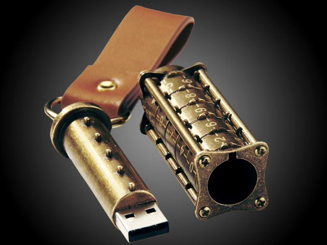 Cryptex USB Flash Drive for Da Vinci Code Fans