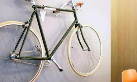 FlipCrown Slims your Bike for Storage