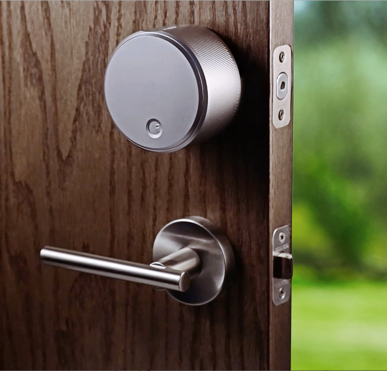 August Smart Lock Keyless Home Entry With Your
