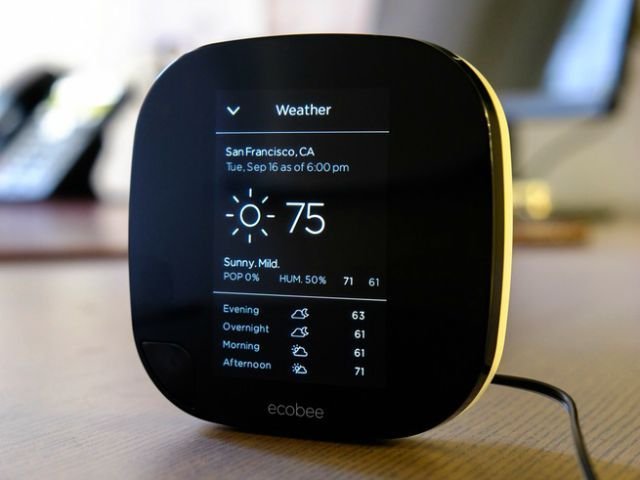 Bee Comfortable with the Ecobee3 Wi-Fi Thermostat