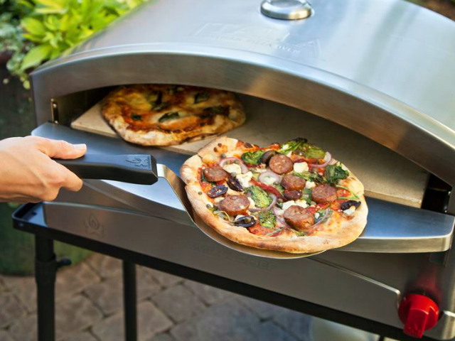 Brick Oven Pizza Anytime, Anywhere With The Camp Chef Italia Artisan Pizza Oven