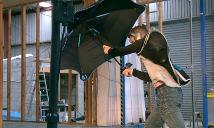 Blunt Umbrella Takes On The Brunt Of A Hurricane