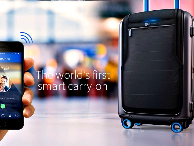 Bluesmart: World's First Smart, Connected Carry-On