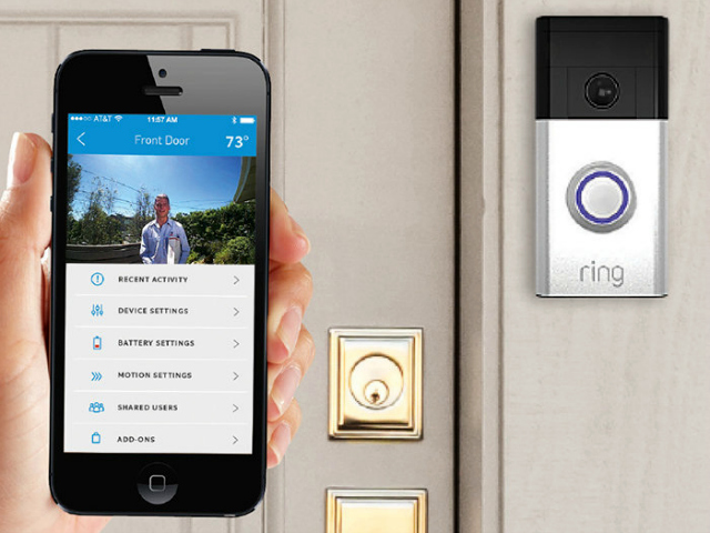 Answer Your Doorbell From Anywhere With Ring Doorbell