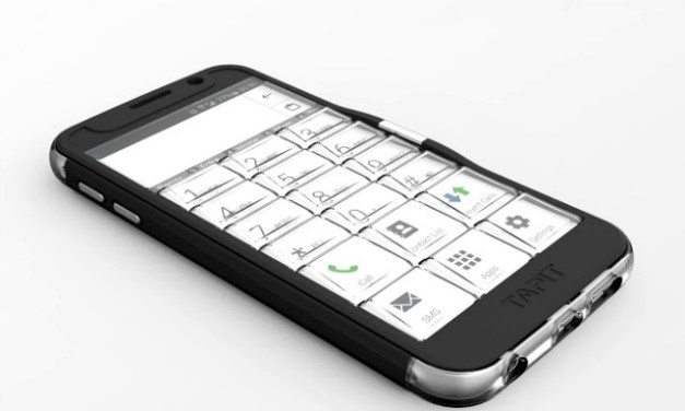 Tapit Reintroduces Physical Buttons To Smartphones