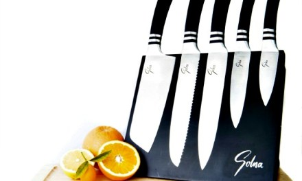 Stainless Steel Cooking Knives With Magnetic Cutting Board