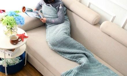 Mermaid Tail Blanket Channels your Inner Mermaid