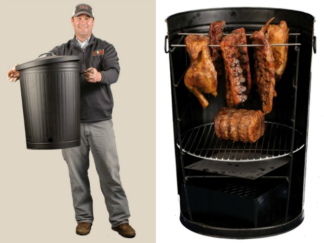 Po' Man: Gourmet Cooking in a Trash Can