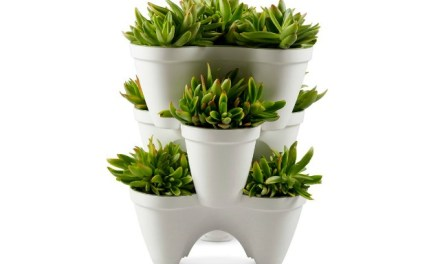 Mr Stacky Stackable Planter: Plant a Vertical Garden Easily