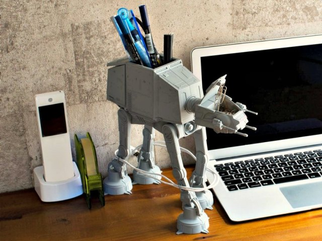 AT-AT Multi Stand is the Must-have Desk Caddy for Every Star Wars Fan